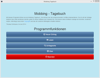 mobbing tagebuch freeware start